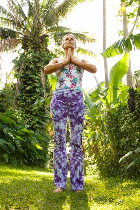 Горная поза йоги