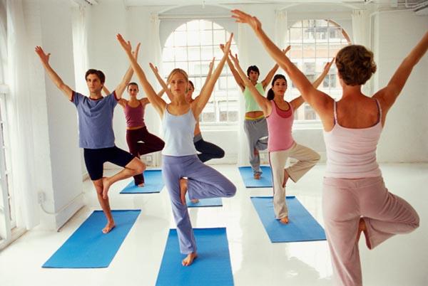 Древовидная поза йоги