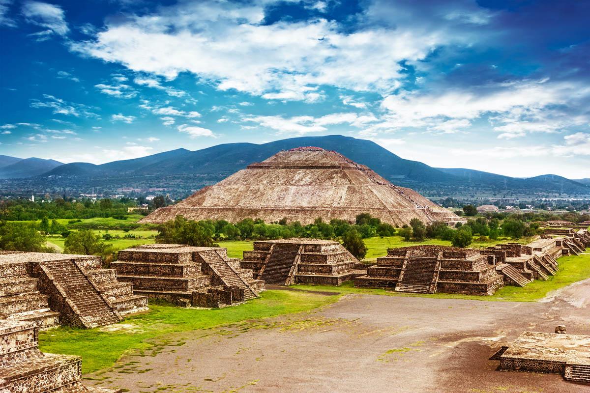 Где стоит побывать - город Мексики