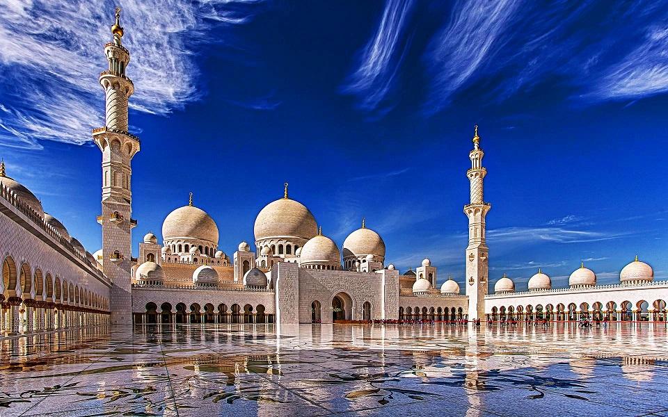 Где стоит побывать - мечеть шейха