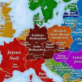 Как поздравляют с Рождеством в разных странах Европы