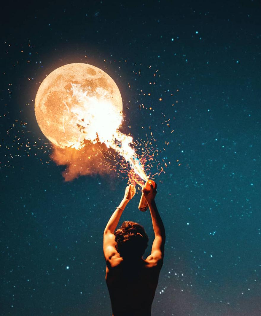 moon-and-human