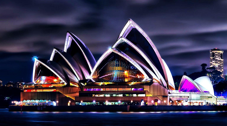 Где стоит побывать - Сиднейский оперный театр