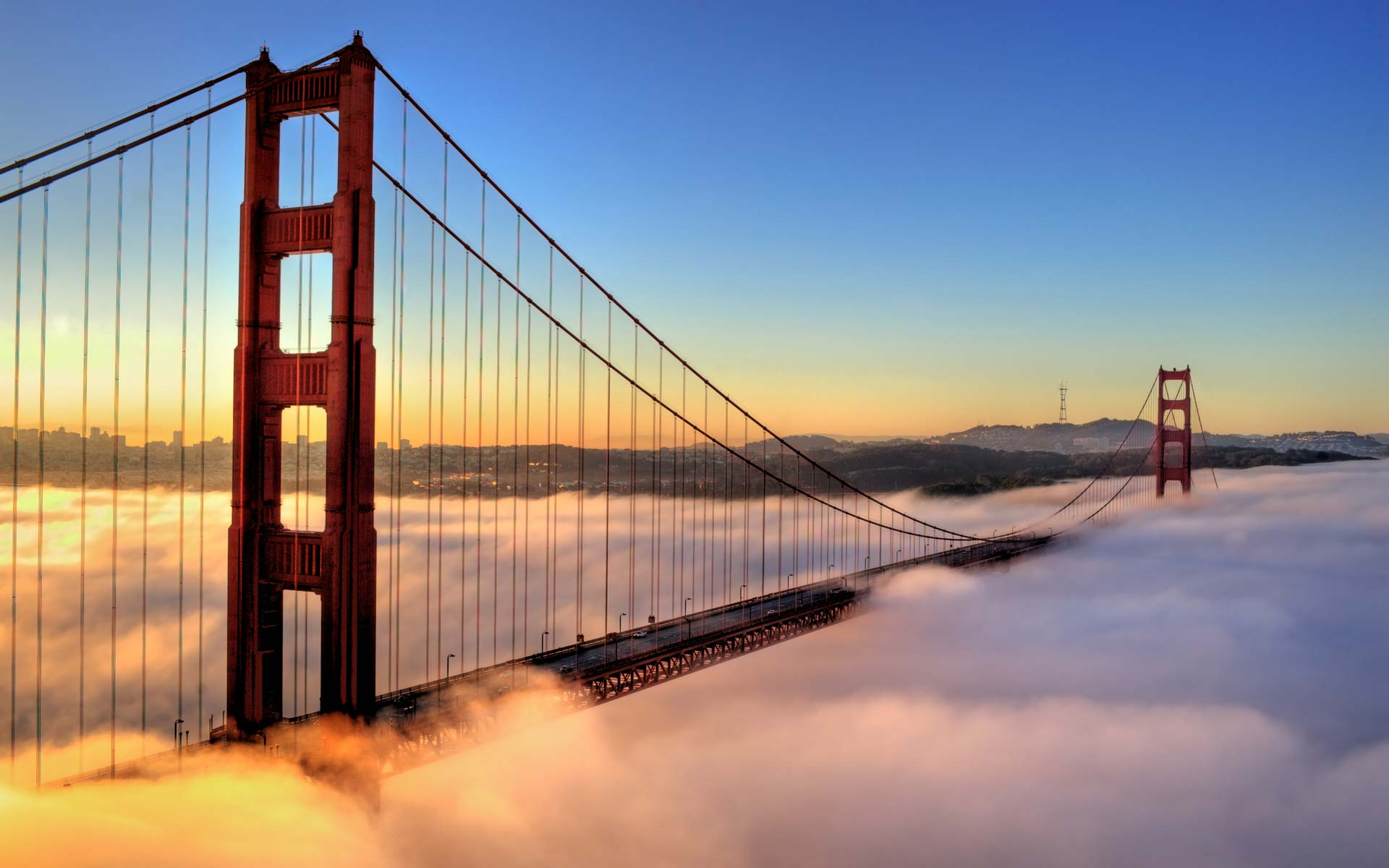Где стоит побывать - Мост золотые ворота Калифорния