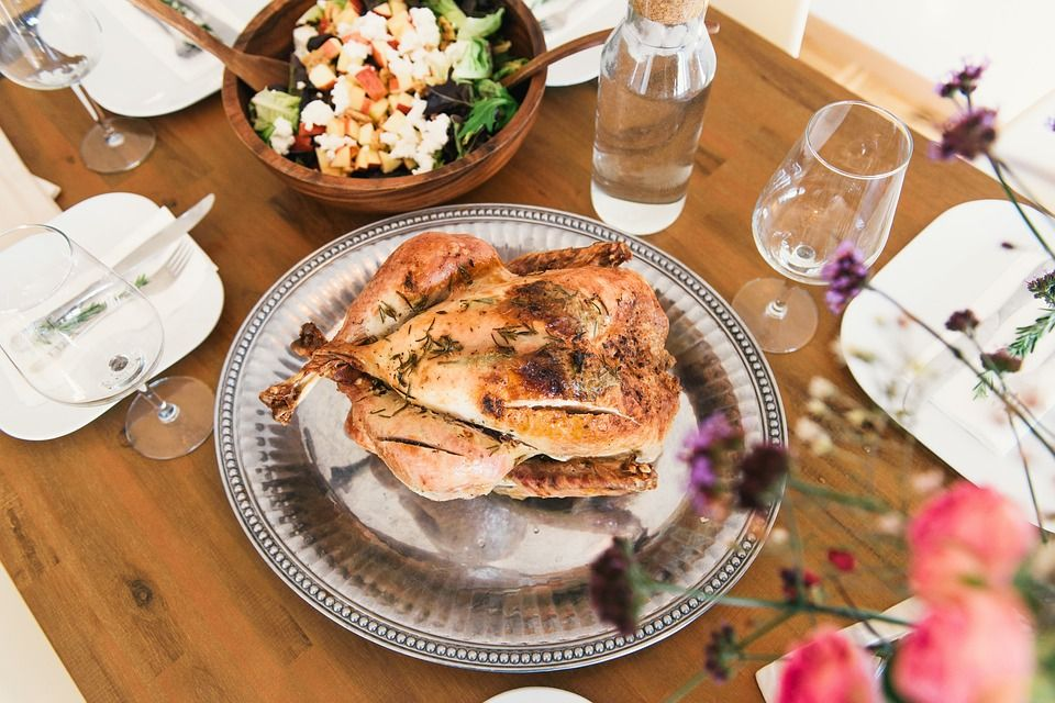 Здоровая пища - курица