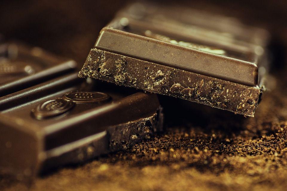 Здоровая пища - шоколад