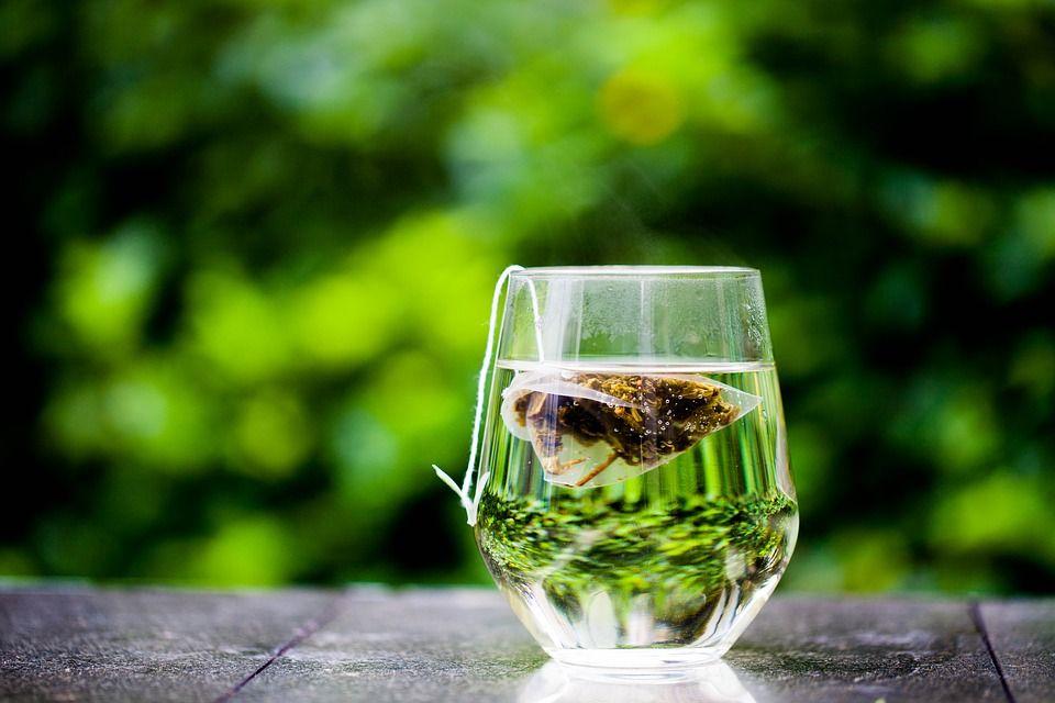 Зеленый чай полезный