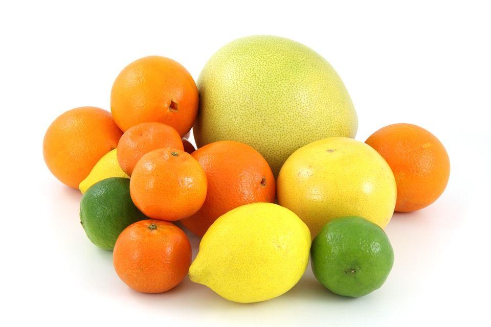 Здоровая пища - цитрусовые