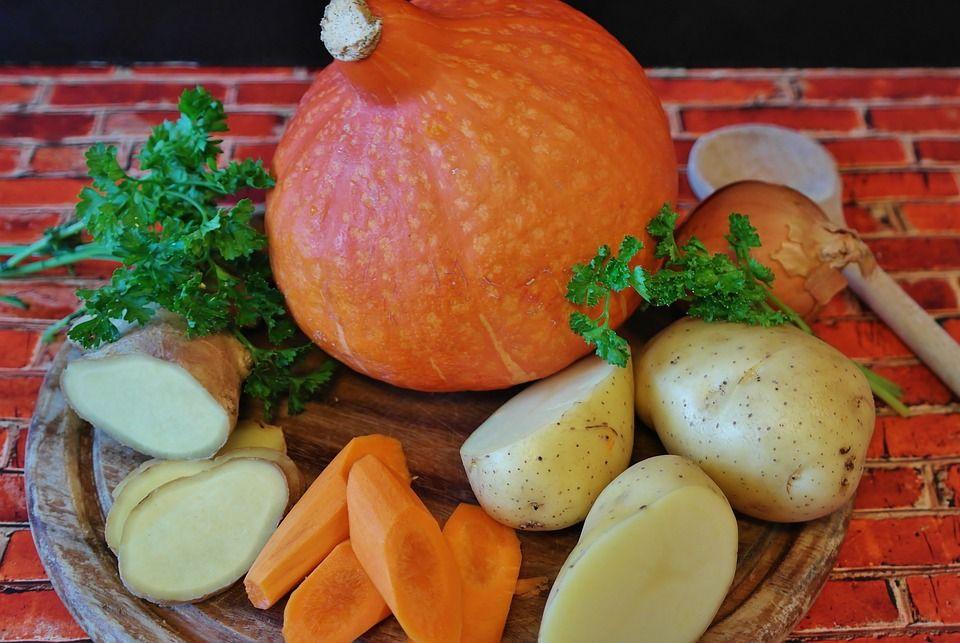 Картошка, морковка, тыква - Здоровая пища