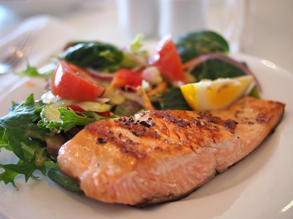 Здоровая пища - рыба