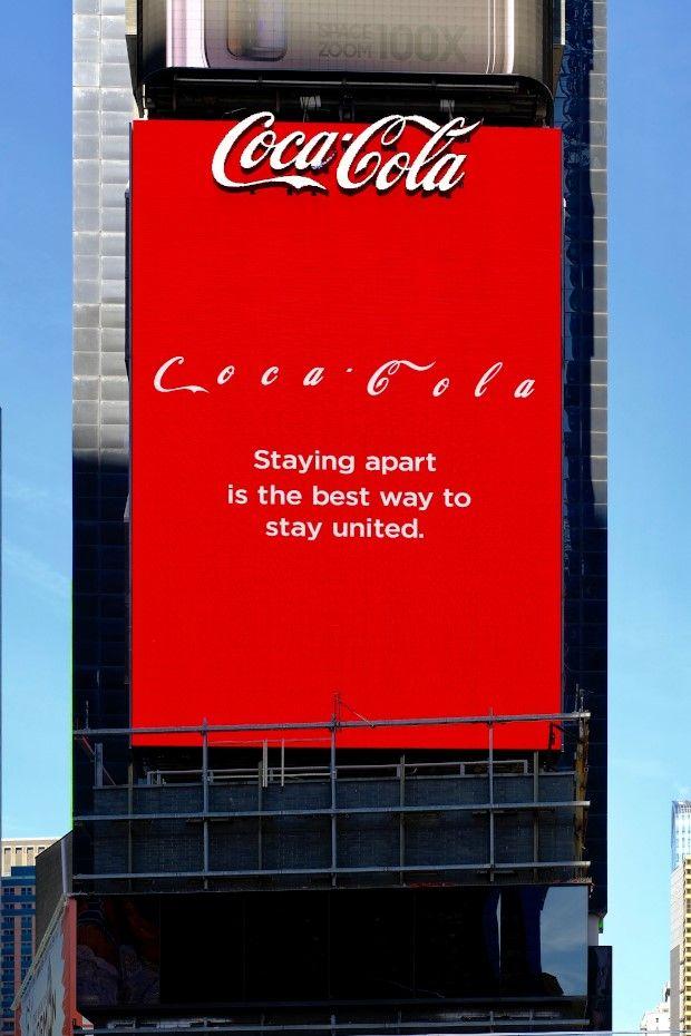 Кока кола на карантине