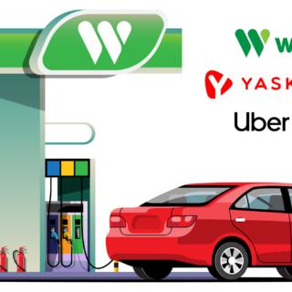 Национальное объединение лидеров: WOG и YASKRAVA предоставляют фиксированные скидки водителям UBER